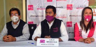 Señala Eduardo Medécigo presunta corrupción en Mineral de la Reforma