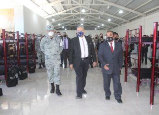 Instalan destacamento de la Guardia Nacional en Zempoala