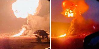 Se registra fuerte explosión en el altiplano hidalguense