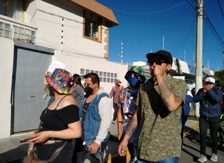 Marchan en Pachuca por la legalización de la marihuana