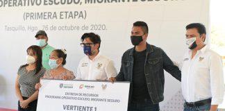 Brindan apoyo a migrantes afectados por el Covid-19