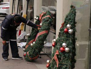 No habrá árbol de navidad en Plaza Juárez