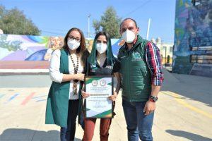 Entregan Premio Municipal de la Juventud en Reforma