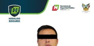 Asegura SSP Hidalgo a hombre presuntamente relacionado con robos