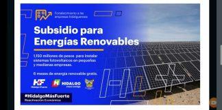 Darán seis meses de energía gratis a empresas