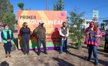 Inauguran primer Bosque Lineal en Pachuca